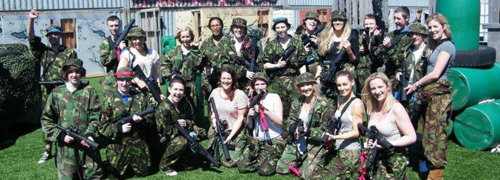Bedlam Outdoor Laser Tag Glasgow