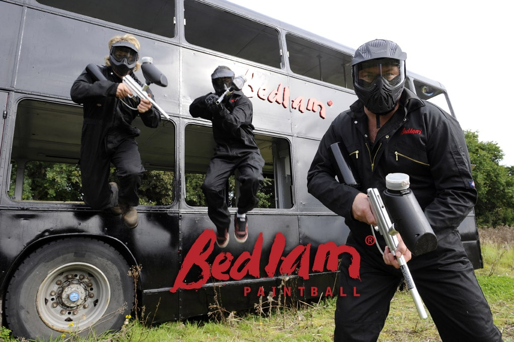 Bedlam Paintball Bus 1