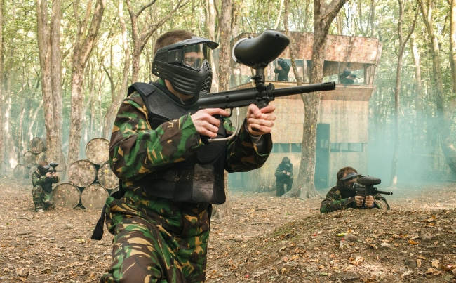 Bedlam Paintball Leeds Harrogate