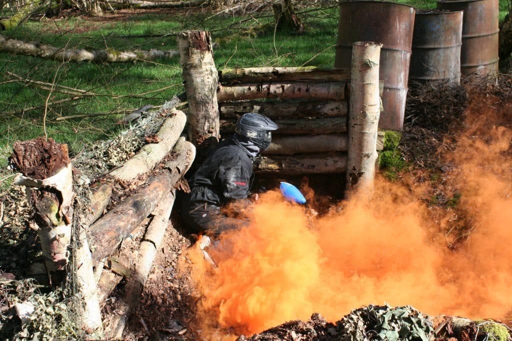 Bedlam Paintball Orange Smoke