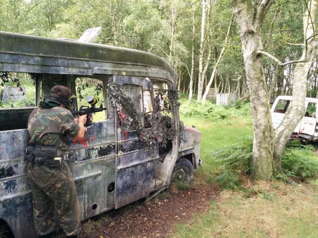 Bedlam Paintball Wigan