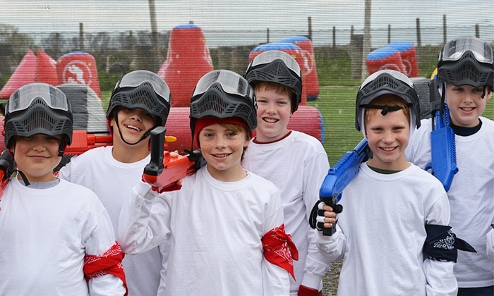 5 Reasons why Paintball is perfect for a kids Birthday Party or School's Day Out