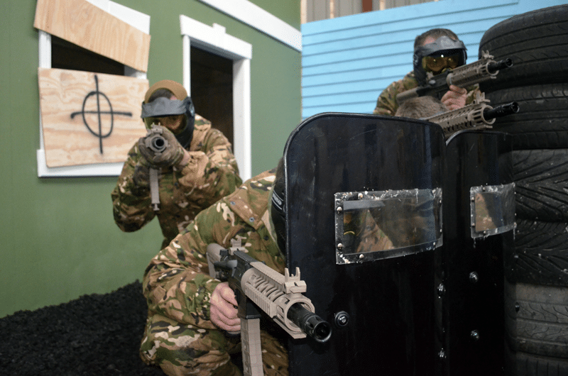Teamwork In Paintball: The Rugby Visit!