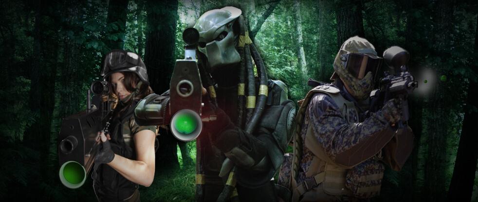 Broxbourne Bedlam Lasertag predator 1