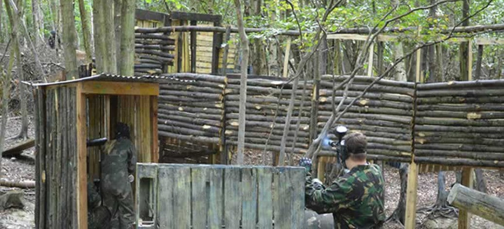 Canterbury Bedlam Paintball Paintballing 2