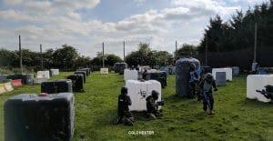 Colchester Bergholt Bedlam Spatmaster Paintball 3