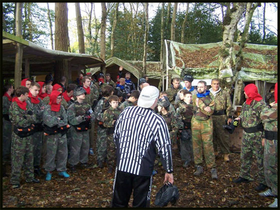 Congleton Bedlam Paintball Paintballing 1