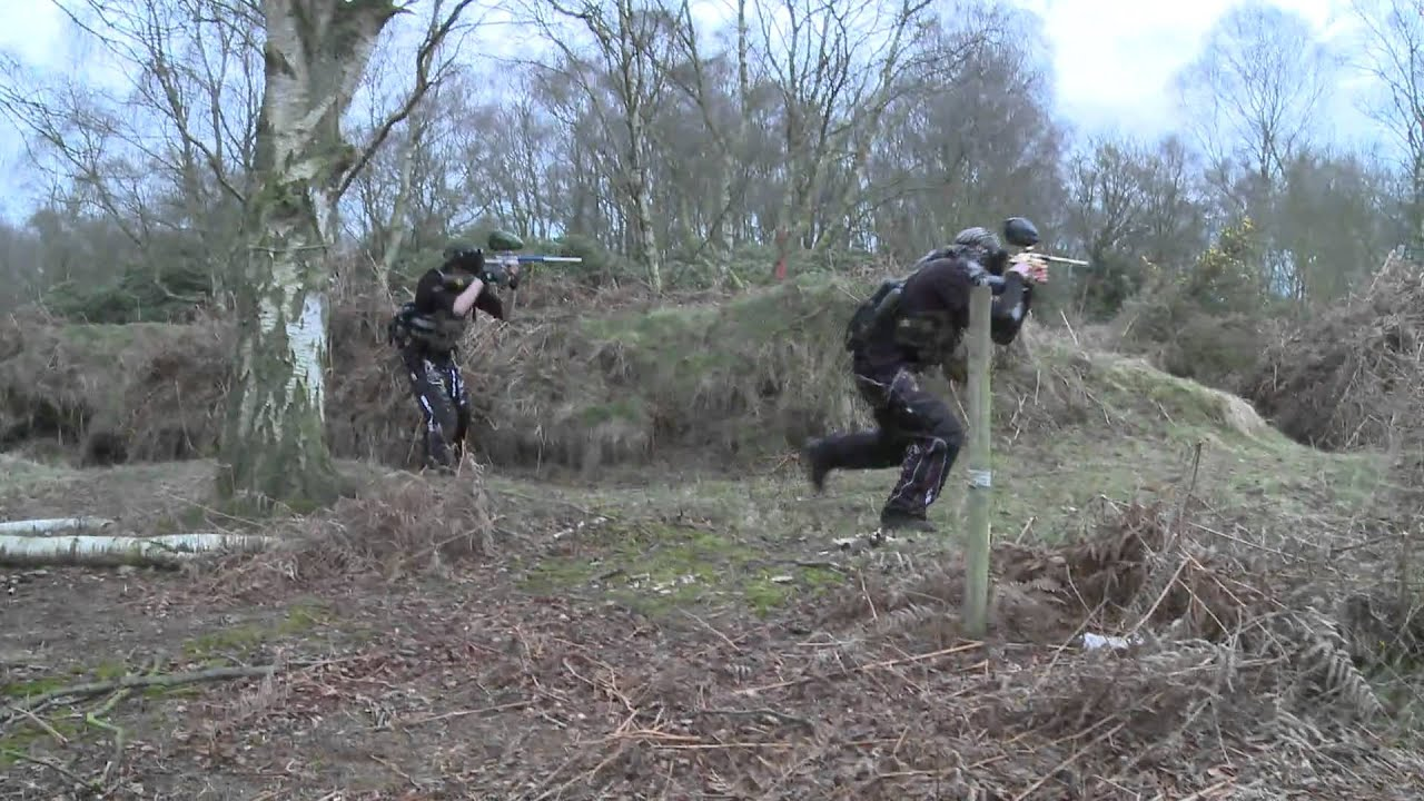 Congleton Bedlam Paintball Paintballing 2