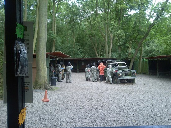 Coventry safe zone Bedlam Paintball