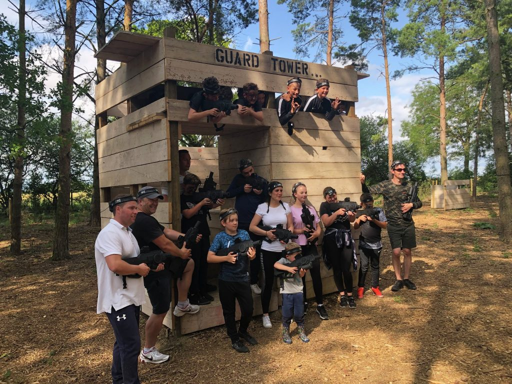 Huntington Bedlam Outdoor lasertag 1