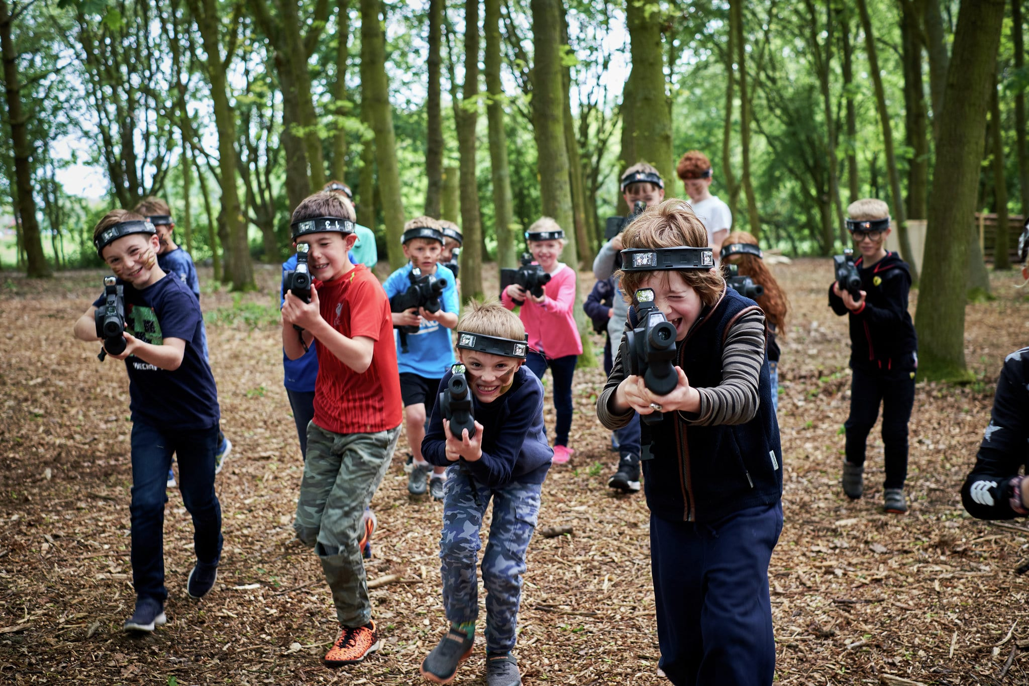 Outdoor Lasertag powered by Bedlam