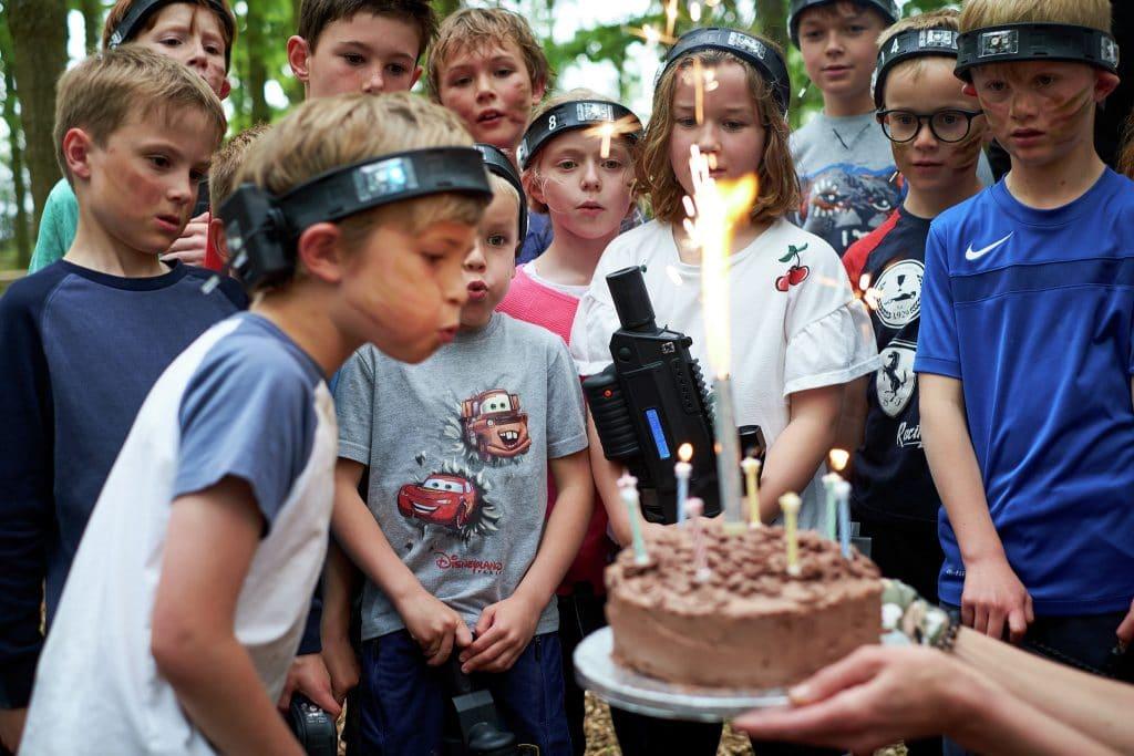 Huntington Bedlam Outdoor lasertag Birthday 1