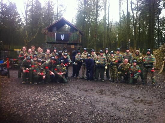 Leicester Bedlam Paintball Paintballing 2