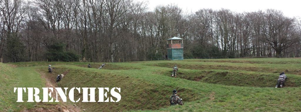 Magerfelt Paintball Zone Trenches Bedlam