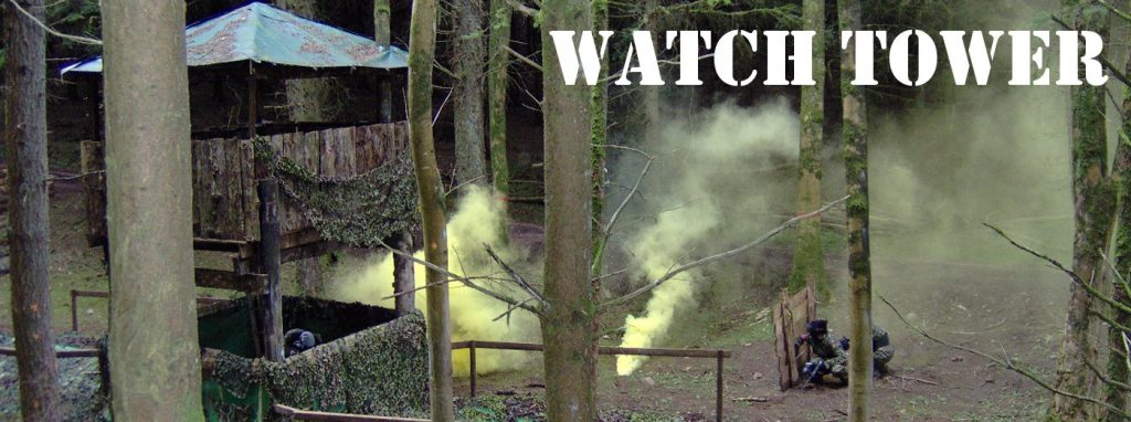 Magherafelt Paintball Zone Watch Tower Bedlam