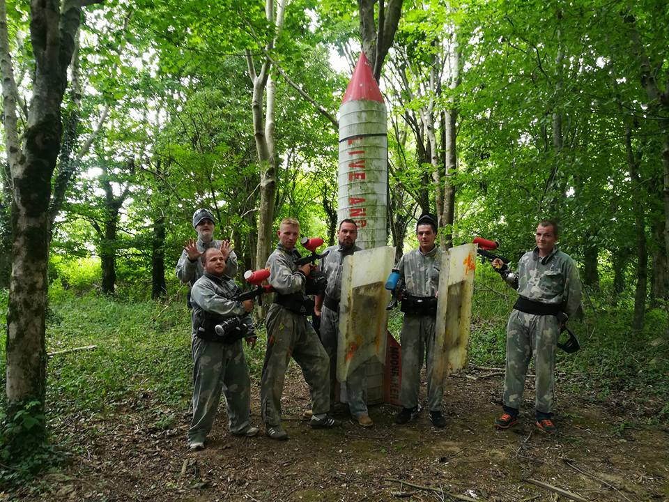 Mega Paintball Rocket Bedlam