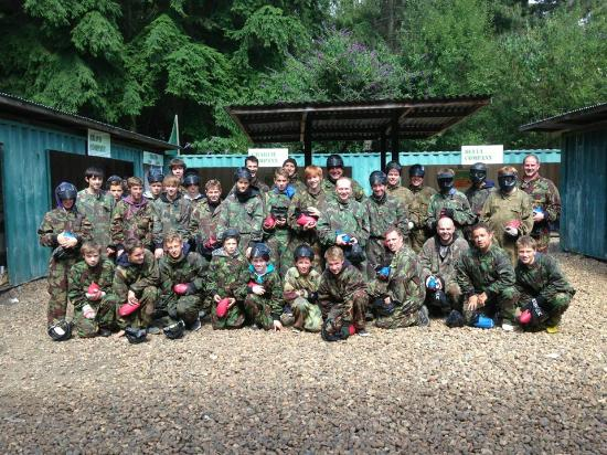 Norwich paintball games Bedlam