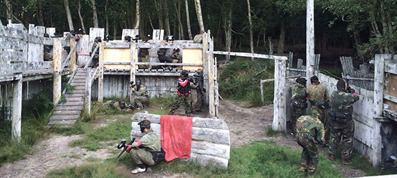 Paintball South Langford Bedlam Paintballing