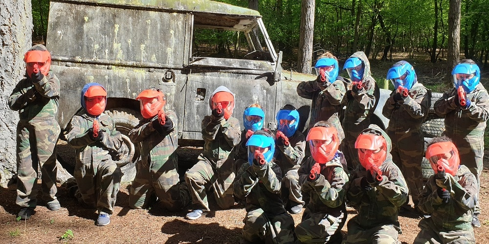Reading Splatmaster Paintball Kids Bedlam 2