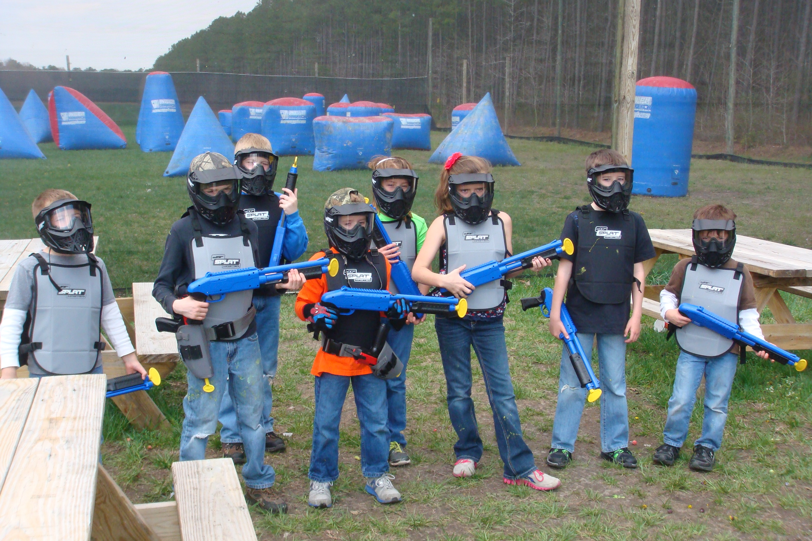 Splatmaster Low Velocity Paintball powered by Bedlam Paintball