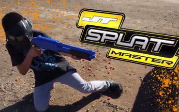 Splatmaster Low Velocity Paintball Bedlam Paintball