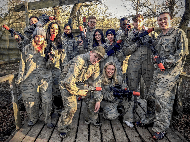 Team Group Lasertag