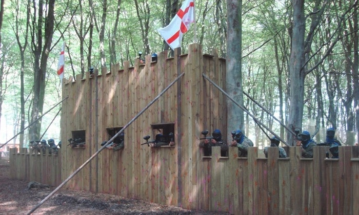 Thetford Paintball Bedlam Fort