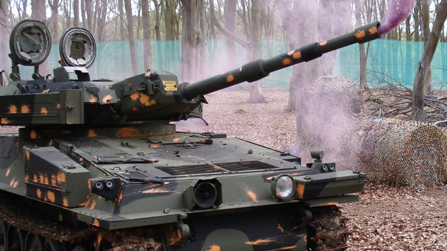 Thetford Paintball Bedlam tank