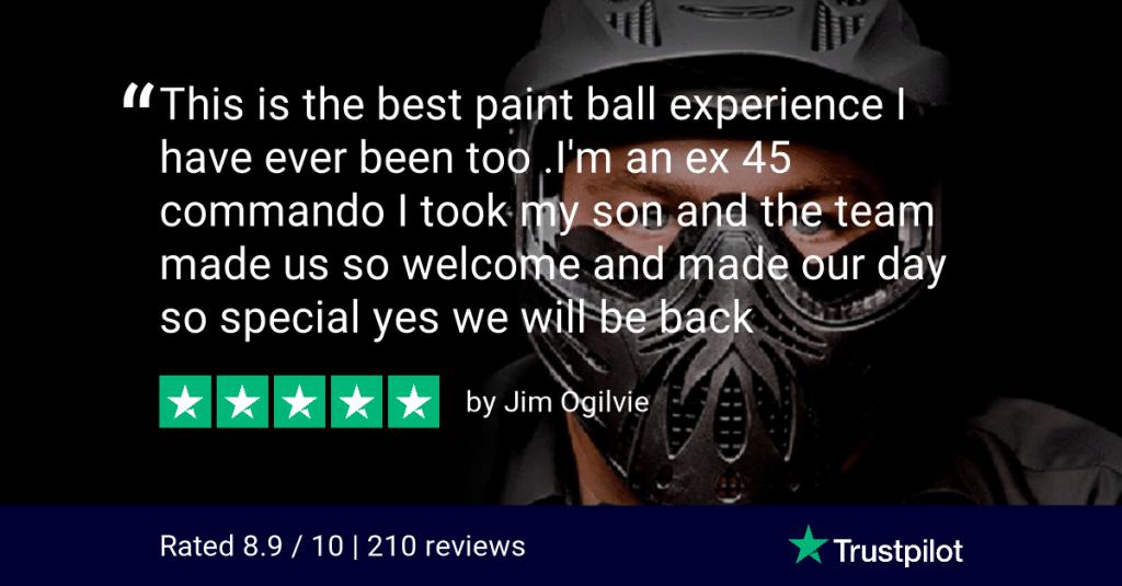 Trustpilot Review Jim Ogilvie Bedlam Paintball