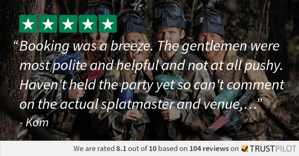 Trustpilot Review Kom Reading Paintball