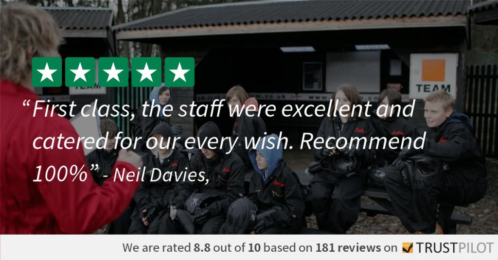 Trustpilot Review Neil Davies 8.8