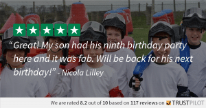 Trustpilot Review Nicola Lilley Splatmaster 8.2
