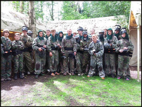 macclesfield Bedlam Paintball Paintballing 1