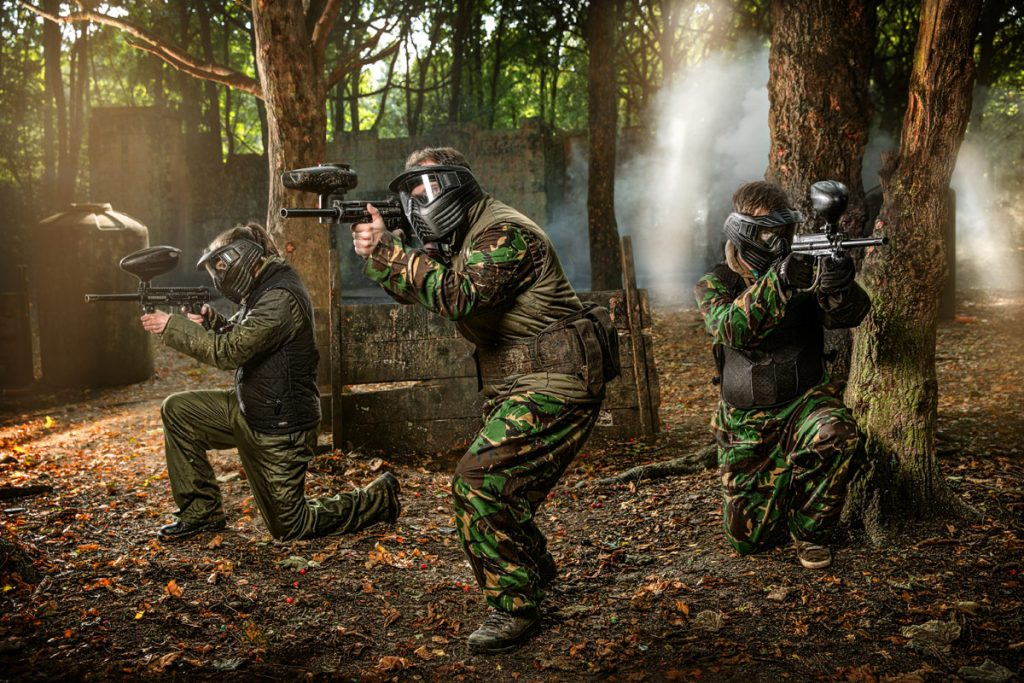 macclesfield Bedlam Paintball Paintballing 2
