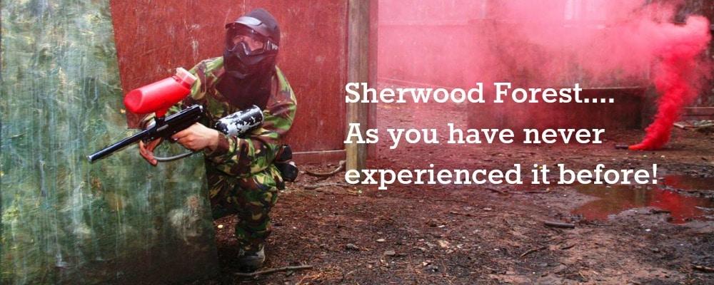 nottingham paintballing Bedlam Paintball sherwood forest
