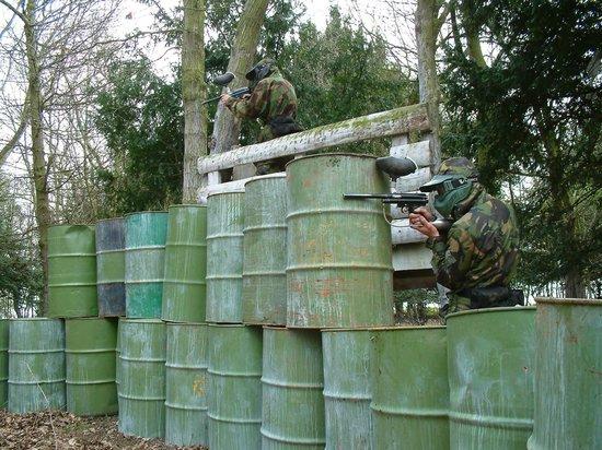 paintball commando Fuel Dump Bedlam Paintballing Castleford