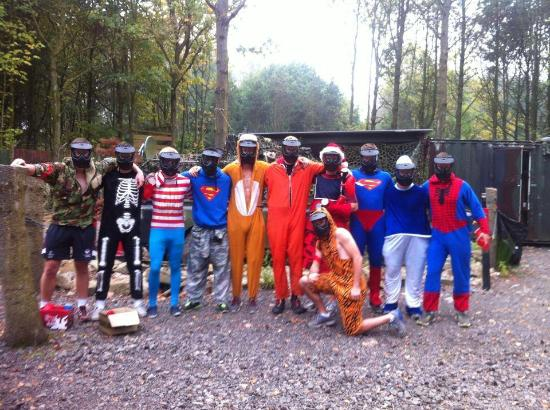 paintballing sas 22 Paintball Leicester