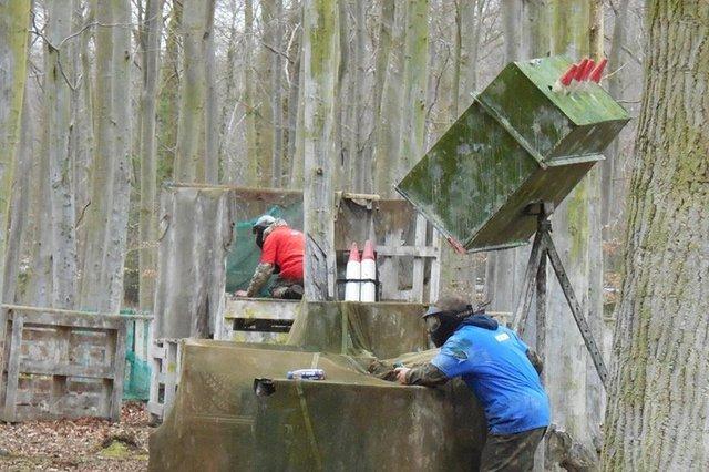 sam missile base paintball Bedlam Paintball abergele
