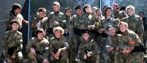 youth groups Paintball 1