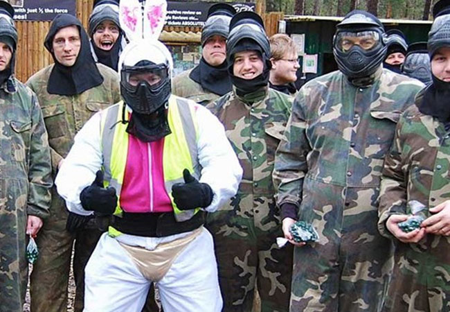 Paintballing Stag Parties at Bedlam Paintball