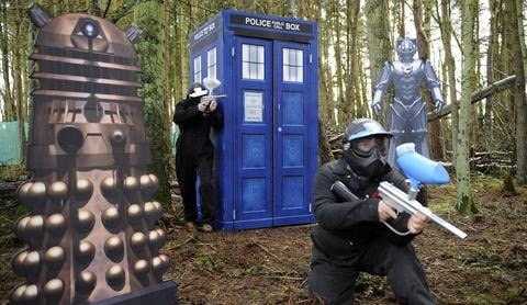 Doctor Who Paintballing Game copy