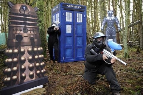 Doctor Who Paintballing Game