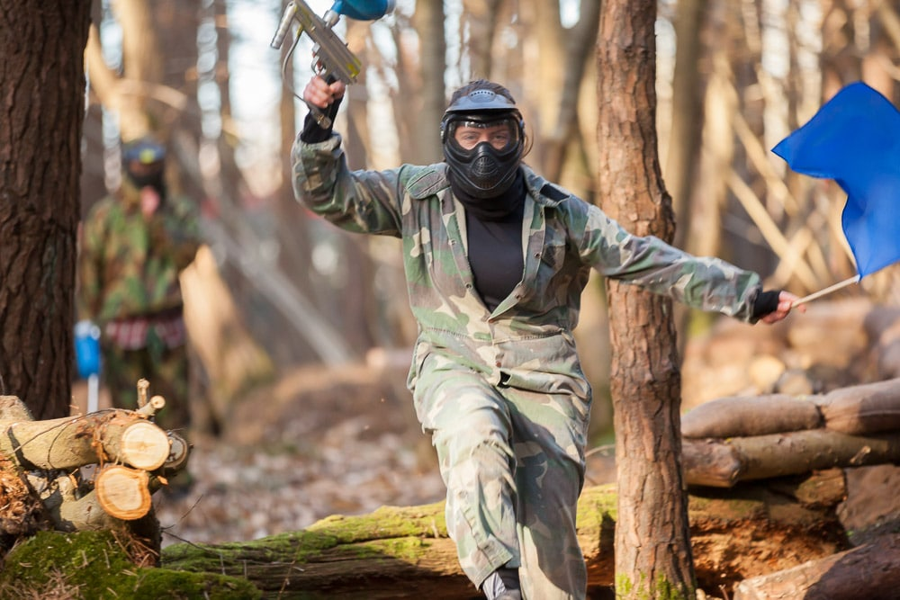 Driver Wood Paintball Capture The Flag