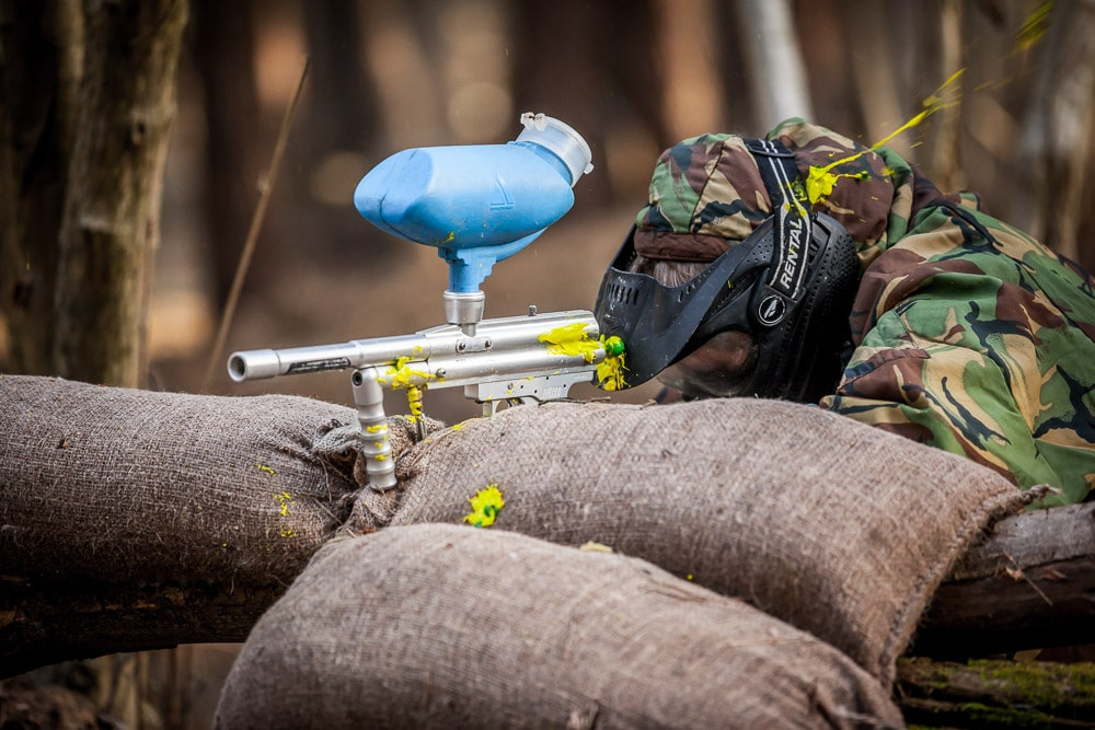 Driver Wood Paintball Trenches