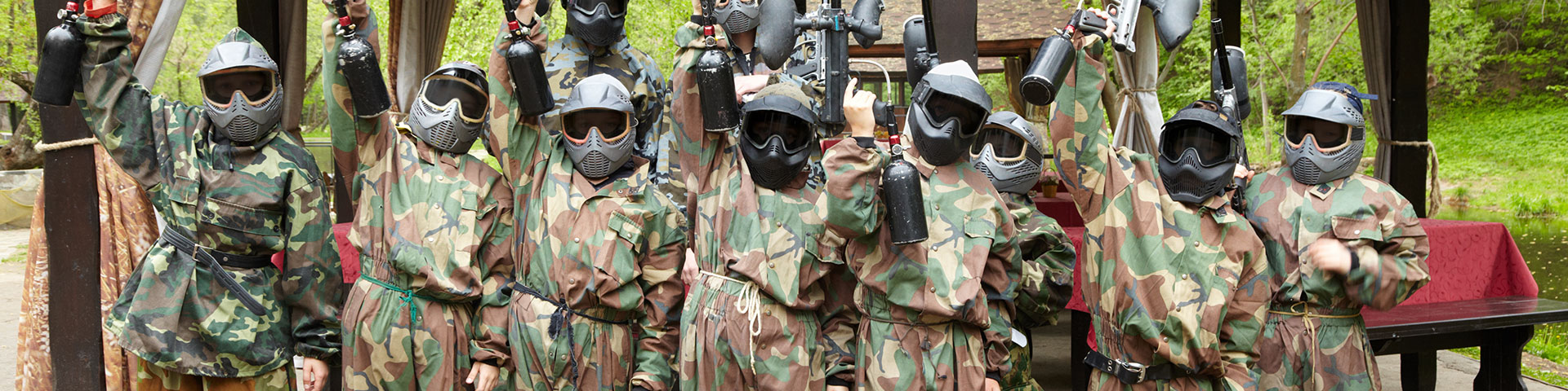 Brand New Bedlam Paintball Packages