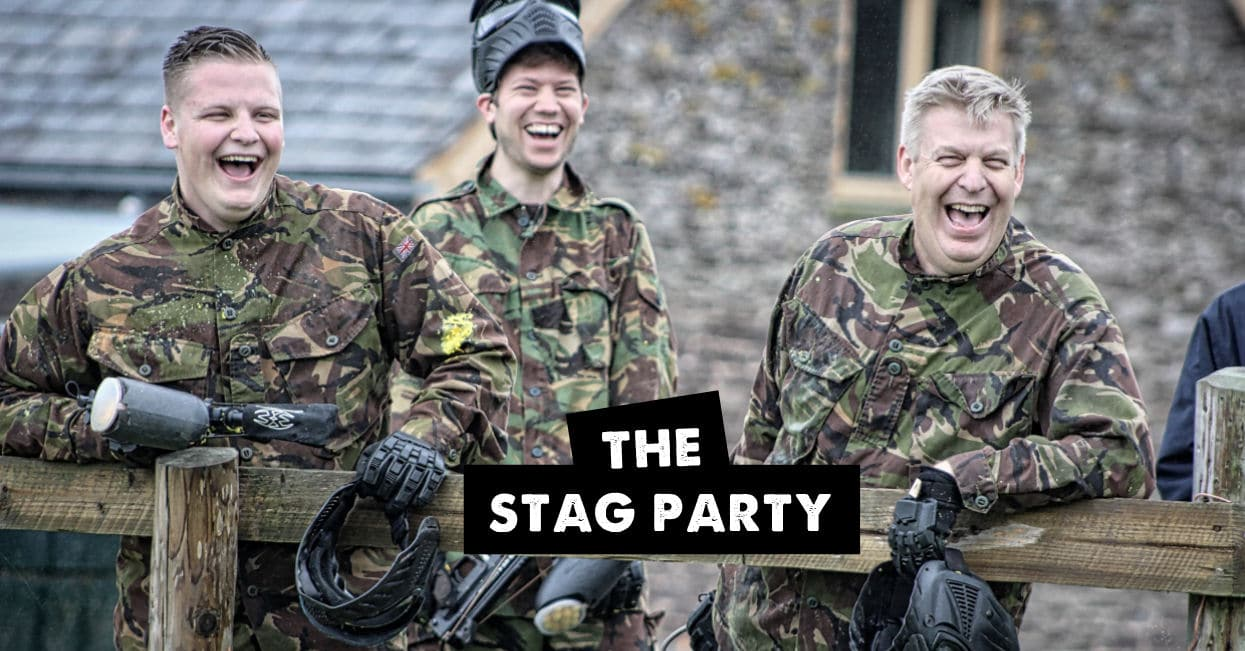 Hereford Paintball stag party