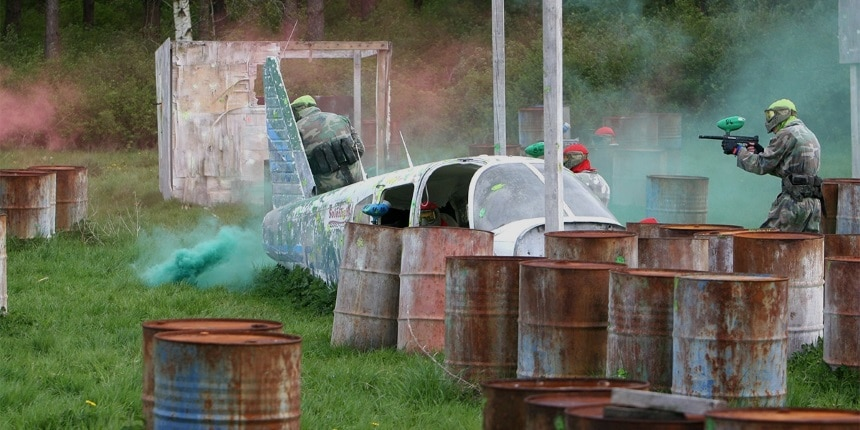 Randalstown paintball team games