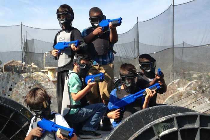 Paintballing for Kids