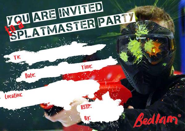 bedlam splatmaster Invite thumb