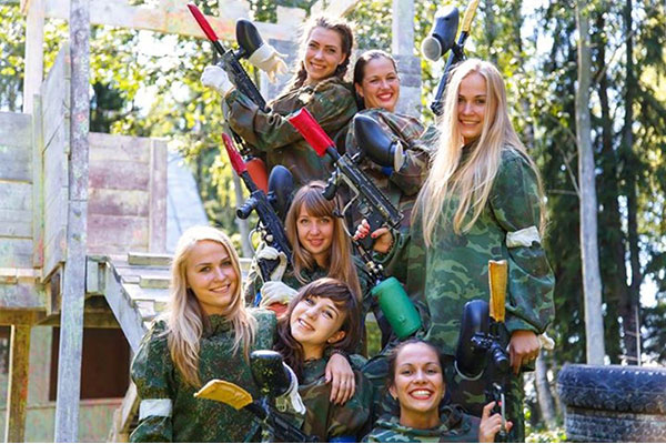 Bedlam Group Lasertag hen party slideshow